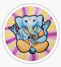 ganesh enjoys shakes Sticker