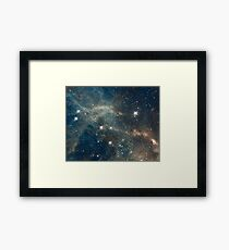 Cool Space Framed Print