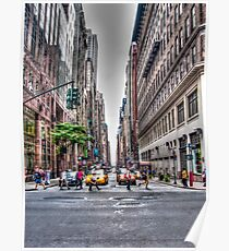 New York Streets Poster