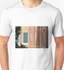 Beautiful building with gentle yellow, pink details T-Shirt