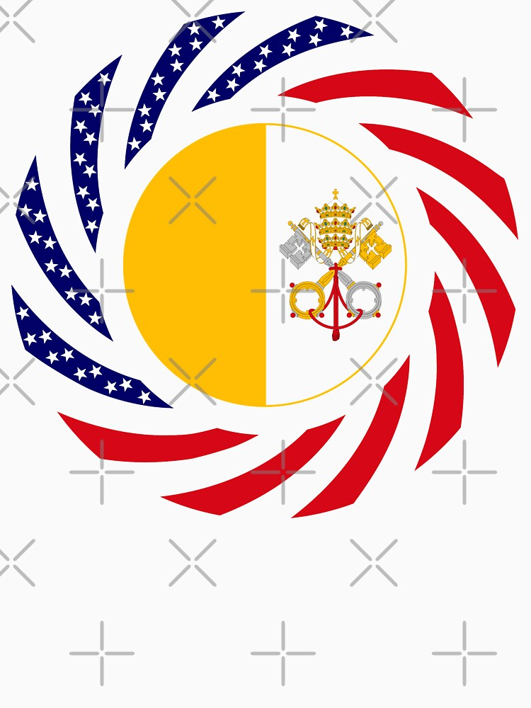 Catholic Murican Patriot Flag Series by carbonfibreme