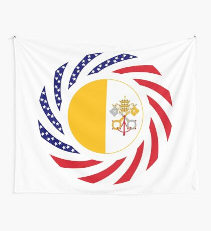 Catholic Murican Patriot Flag Series Wall Tapestry