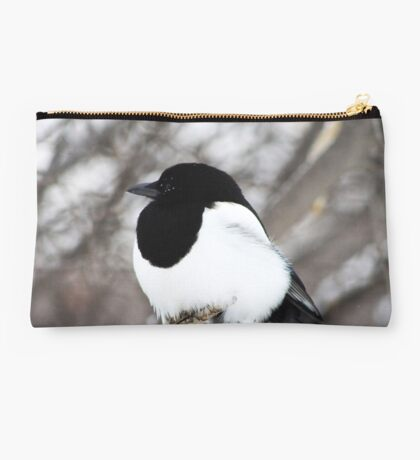 Winter Magpie Studio Pouch