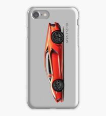 The Fighting Bull Aventador iPhone Case/Skin