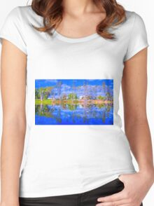 River Gums and the Red Door Women's Fitted Scoop T-Shirt