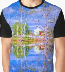 River Gums and the Red Door Graphic T-Shirt