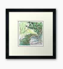 River Framed Print