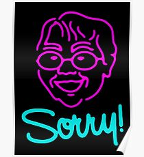 Sorry ! Poster
