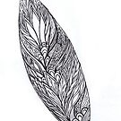 leaf tangle | by Vickie Simons