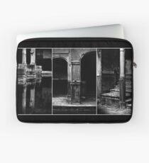 Roman Baths Triptych [black] Laptop Sleeve