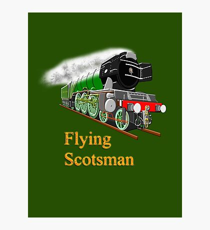 The Flying Scotsman with Blinkers Photographic Print