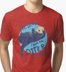 Otter Side Tri-blend T-Shirt
