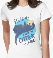 Otter Side Women's Fitted T-Shirt