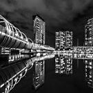 Web Bridge , Melbourne by Christine Wilson