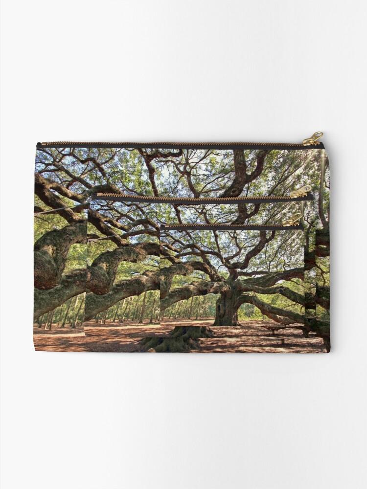 Alternate view of The Angel Oak Zipper Pouch