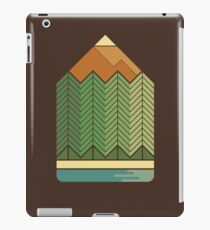 Drawing Mountains iPad Case/Skin