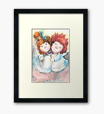 Angels Framed Print