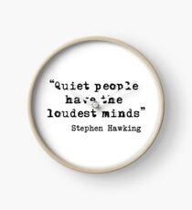 Quiet People Clock