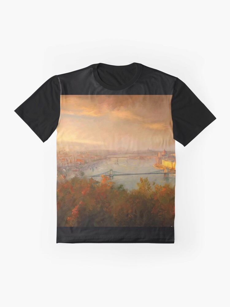 Alternate view of View of Budapest Graphic T-Shirt