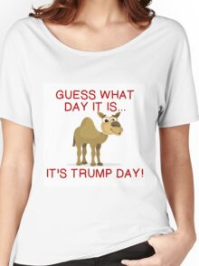 IT'S TRUMP DAY Women's Relaxed Fit T-Shirt
