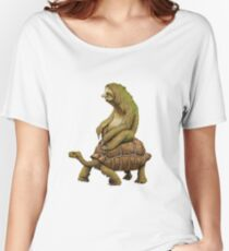 Funny Turtle,Fast,Animal,Lucky Turtle,Ninja,Speed Women's Relaxed Fit T-Shirt