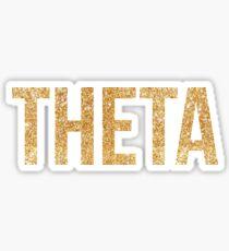 theta gold~~~~~ Sticker