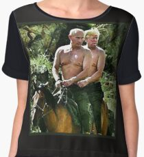 Best Friends Trump & Putin Chiffon Top