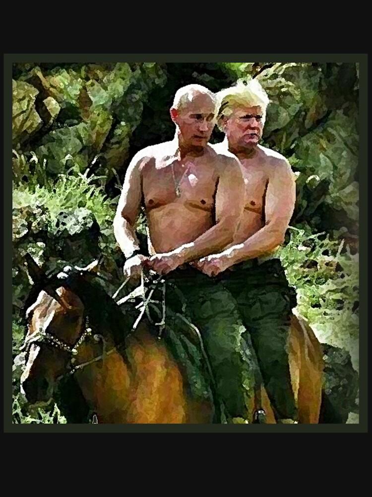 Beste Freunde Trump & Putin von andyjonesy87