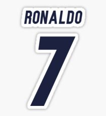 Cr7 logo stickers redbubble - Christiano ronaldo logo ...