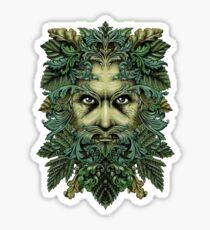 Pegatina El hombre verde