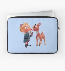 Rudolph the red nose reindeer Laptop Sleeve