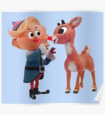 Rudolph the red nose reindeer Poster