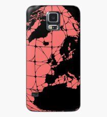 World Web (pink) Case/Skin for Samsung Galaxy
