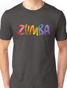 Zumba Powder Paint Unisex T-Shirt