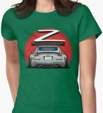 Nissan Fairlady 350Z Z33 Gray Womens Fitted T-Shirt