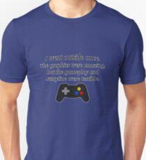 I Went Outside Once. Unisex T-Shirt