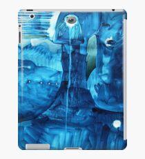 blue beings iPad Case/Skin