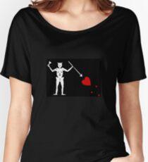Pirate Flag - Blackbeard Women's Relaxed Fit T-Shirt