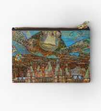 Sea Turtle over Atlantis Studio Pouch