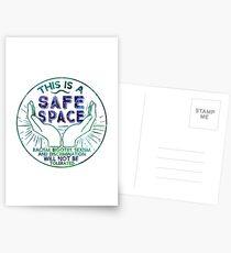 Safe Space Postcards