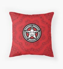 Disobey Red Propaganda Obey Shirt Patter V for Vendetta Design Throw Pillow