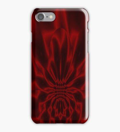 Crimson Flare iPhone Case/Skin