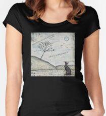 Watership Down Encaustic Women's Fitted Scoop T-Shirt