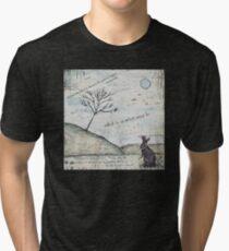 Watership Down Encaustic Tri-blend T-Shirt