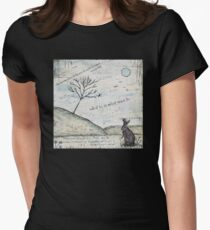 Watership Down Encaustic Women's Fitted T-Shirt