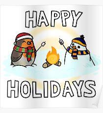 Holiday Robin (TMB) Poster