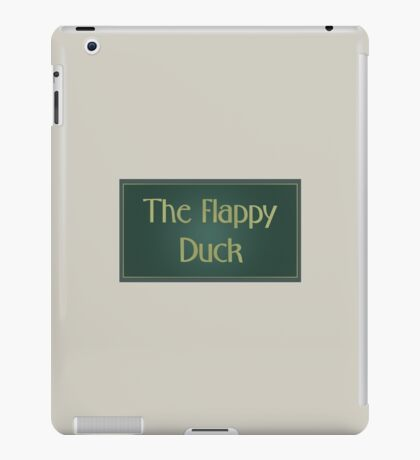 The Flappy Duck - The IT Crowd iPad Case/Skin