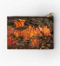The Transparency of Fall Studio Pouch