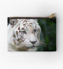 Rare White Tiger Studio Pouch