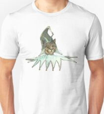 Clown Cat In Green Hat T-Shirt
